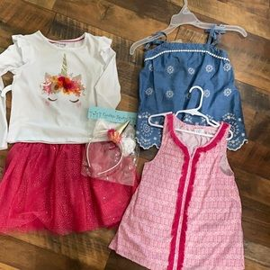 Lot of girls clothes Sz 7-8